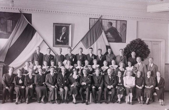 Prantsuse lütseumi 1937. a. lend. Foto: Eesti Rahvusarhiiv