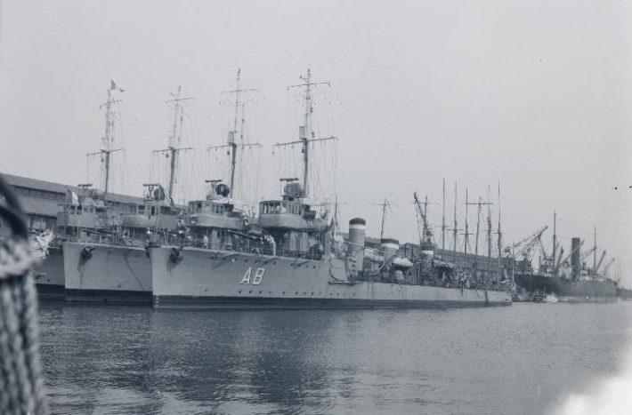 Prantsuse laevastik külaskäigul Tallinnasse. Foto: Eesti Rahvusarhiiv, K. Akel