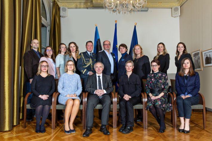 Eesti saatkond 2021. Foto: Benjamin de Diesbach