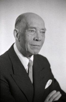 Karl Robert Pusta. 1956. Foto: Eesti Rahvusarhiiv, Harald Perten